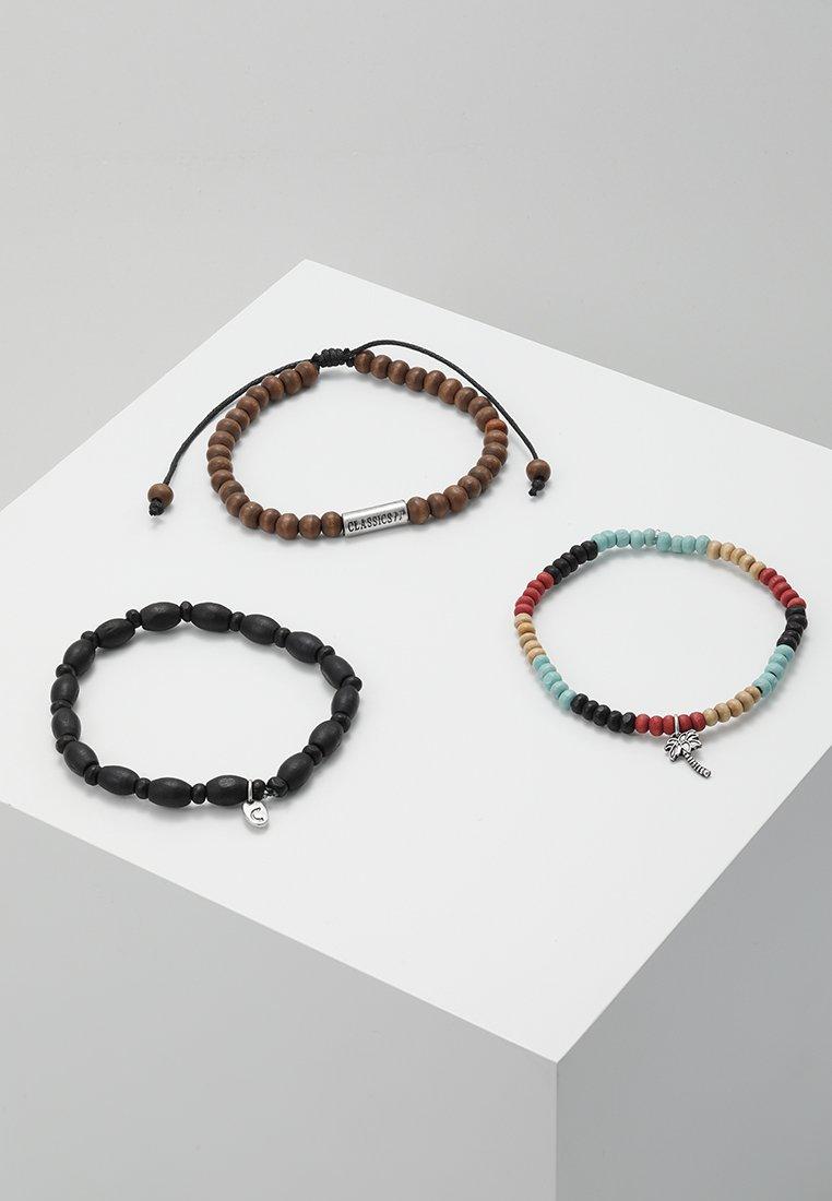 Classics77 - SOLARES COMBO 3 PACK - Bracelet - black