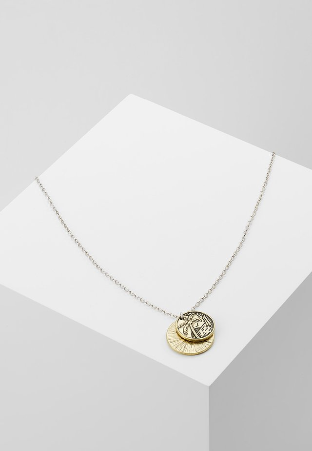 LAGOON NECKLACE - Halsband - silver-coloured