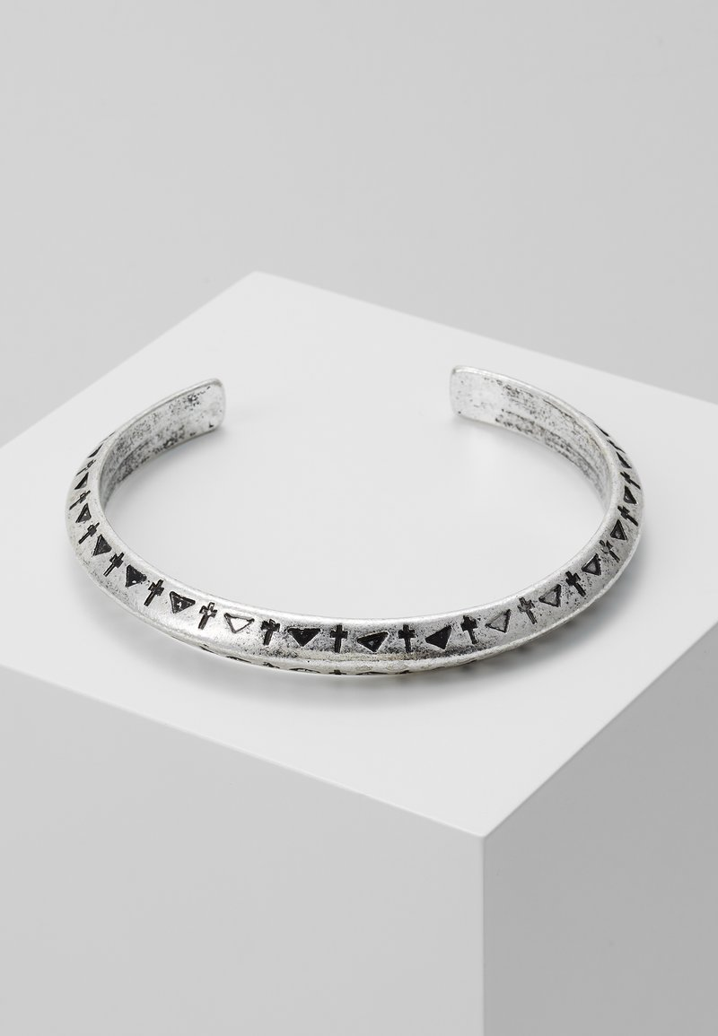 Classics77 - SHAMAN YOU CUFF - Bracelet - silver-coloured