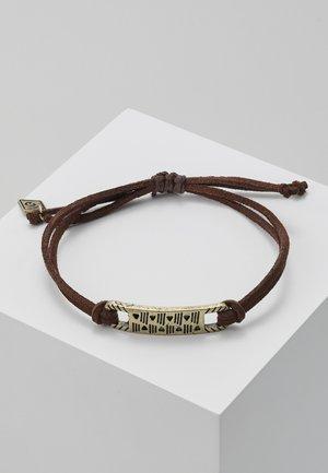 DR NAHH BRACELET - Bracelet - brown/gold-coloured