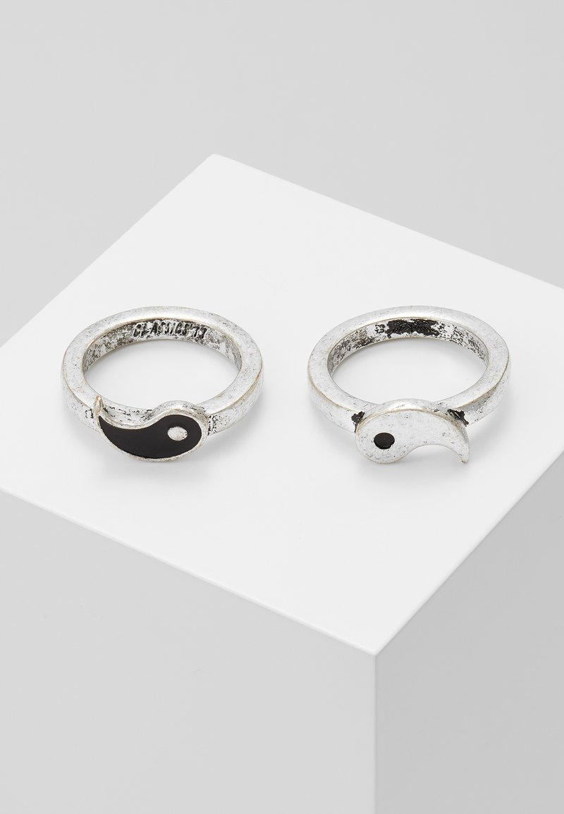 Classics77 - ZEITGEIST RING SET - Ring - silver-coloured