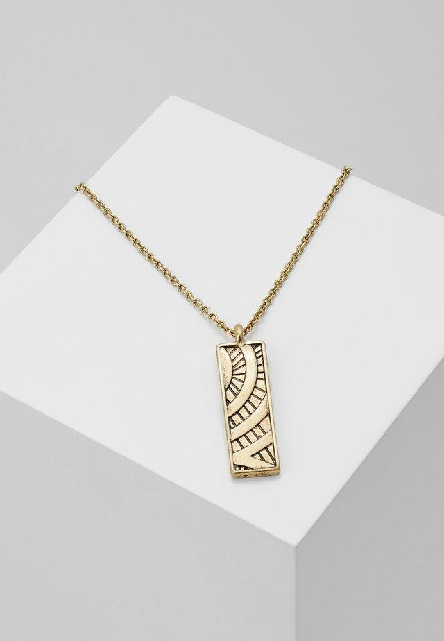 UBUD NECKLACE - Halsband - gold-coloured