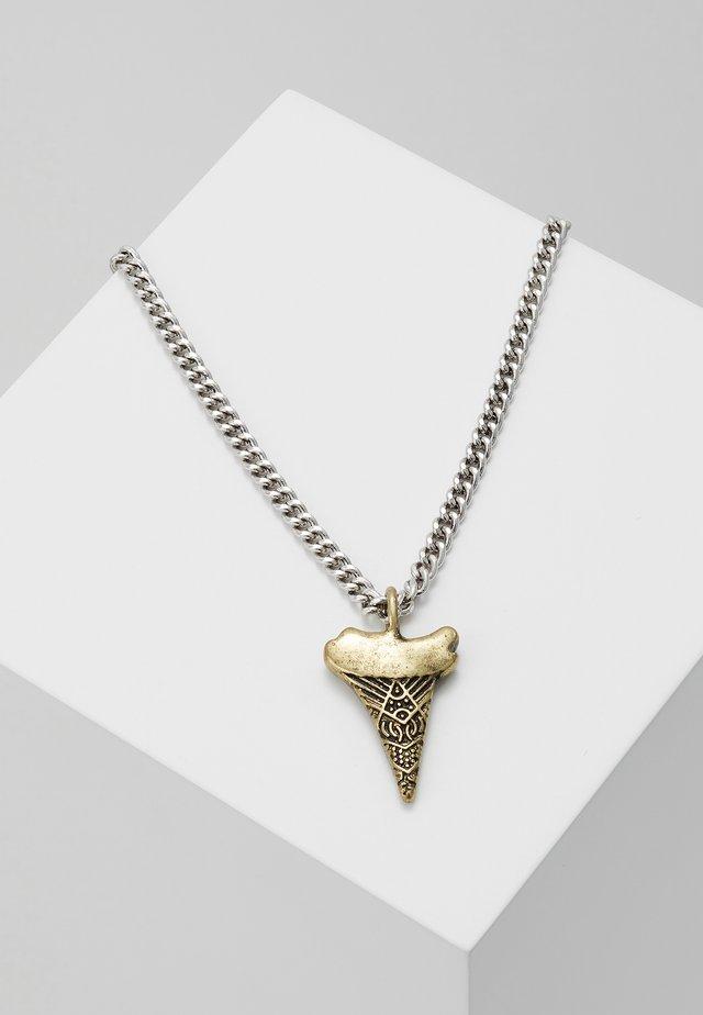 REQUIEM CHAIN NECKLACE - Halsband - silver-colured
