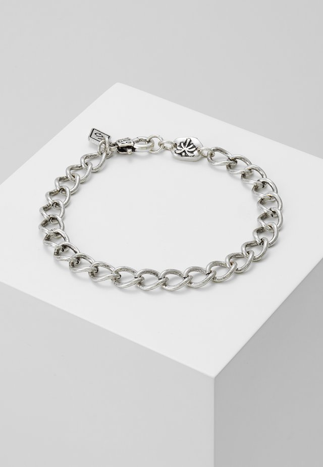 BUENOS NOCHES CHAIN BRACELET - Armband - silver-coloured