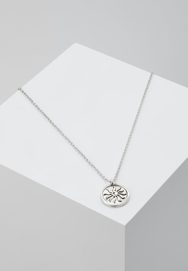 CHILDREN OF THE SUN NECKLACE - Halsband - silver-coloured