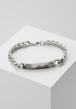 GREAT WAVE CHAIN BRACELET - Bracelet - silver-coloured