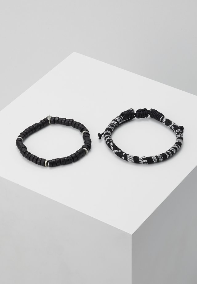 CORUMBA COMBO 2 PACK - Bracelet - black