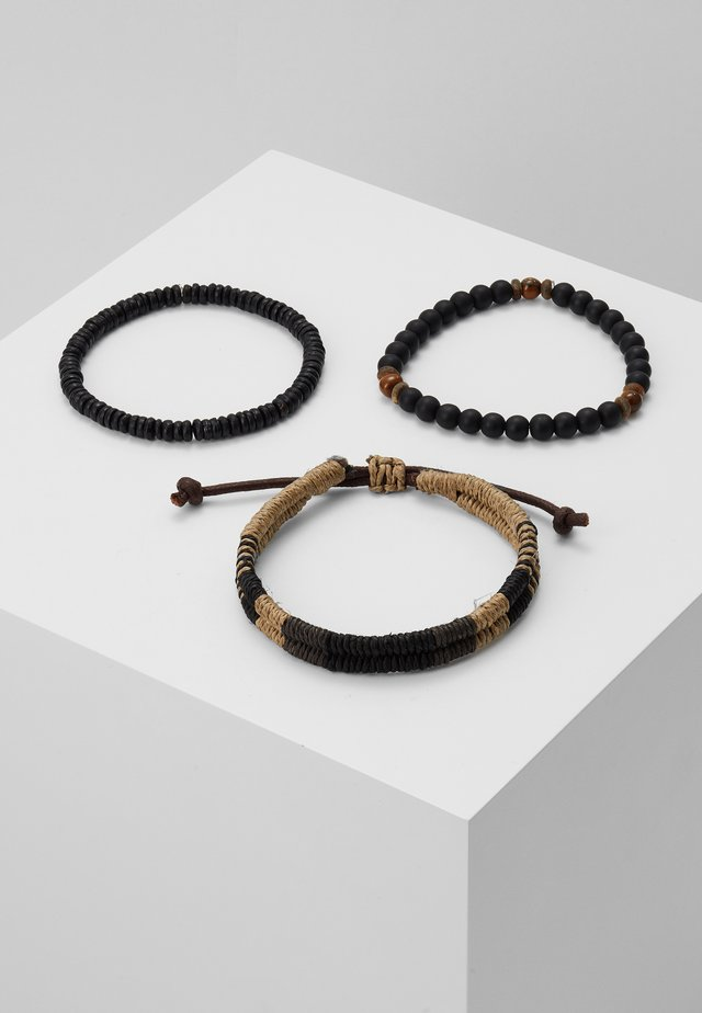TAMRI 3 PACK - Bracelet - black