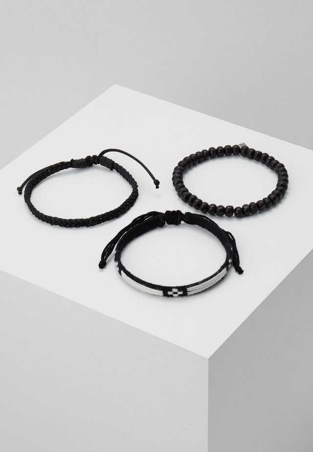 LA SOURCE 3 PACK - Bracelet - black