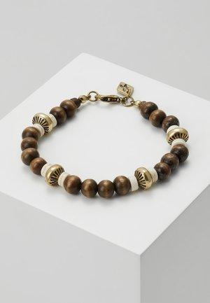 LIMA BEADED BRACELET - Armband - brown