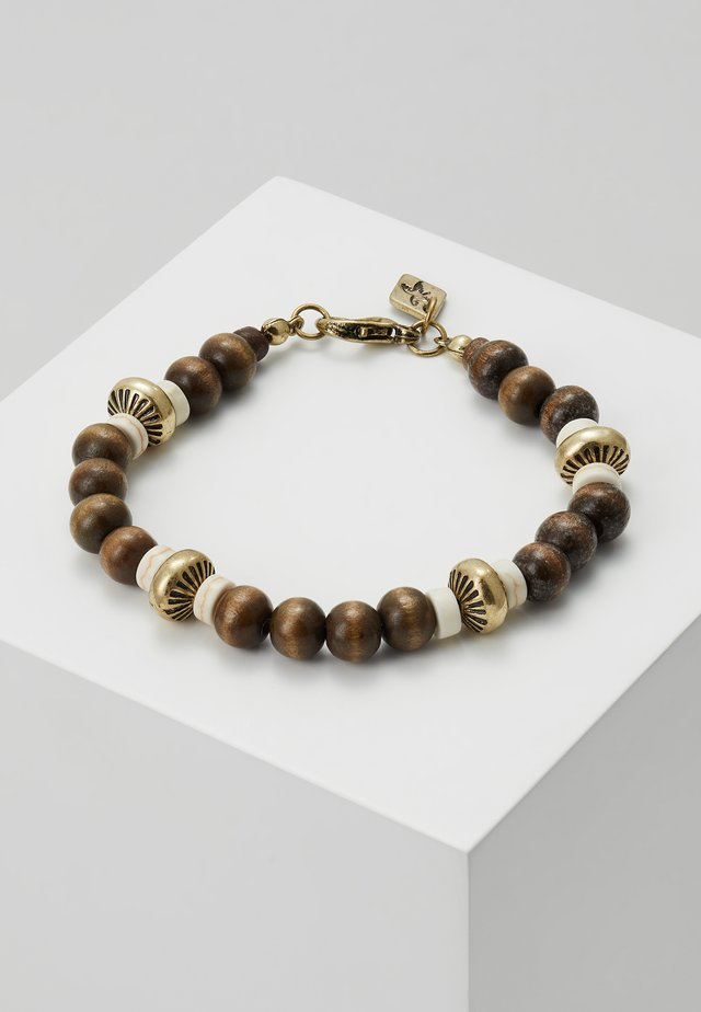 LIMA BEADED BRACELET - Bracelet - brown