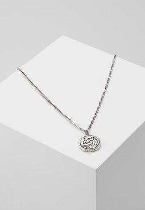 RIPTIDE DISK NECKLACE - Collana - silver-coloured