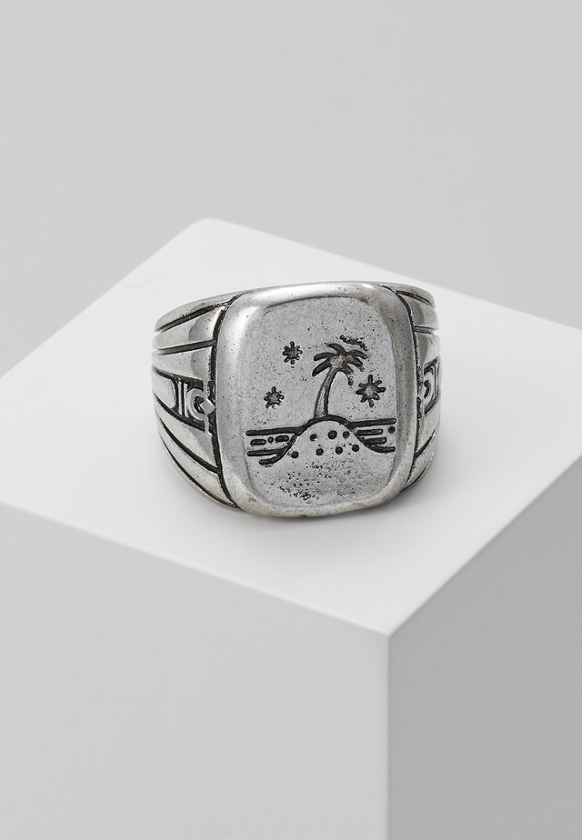 ISLAND TIME SIGNET - Bague - silver-coloured