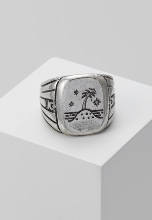 ISLAND TIME SIGNET - Ring - silver-coloured