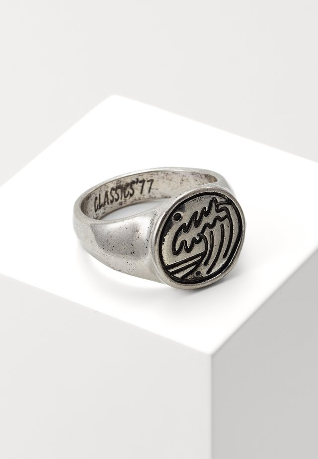 RIPTIDE - Ring - silver-coloured