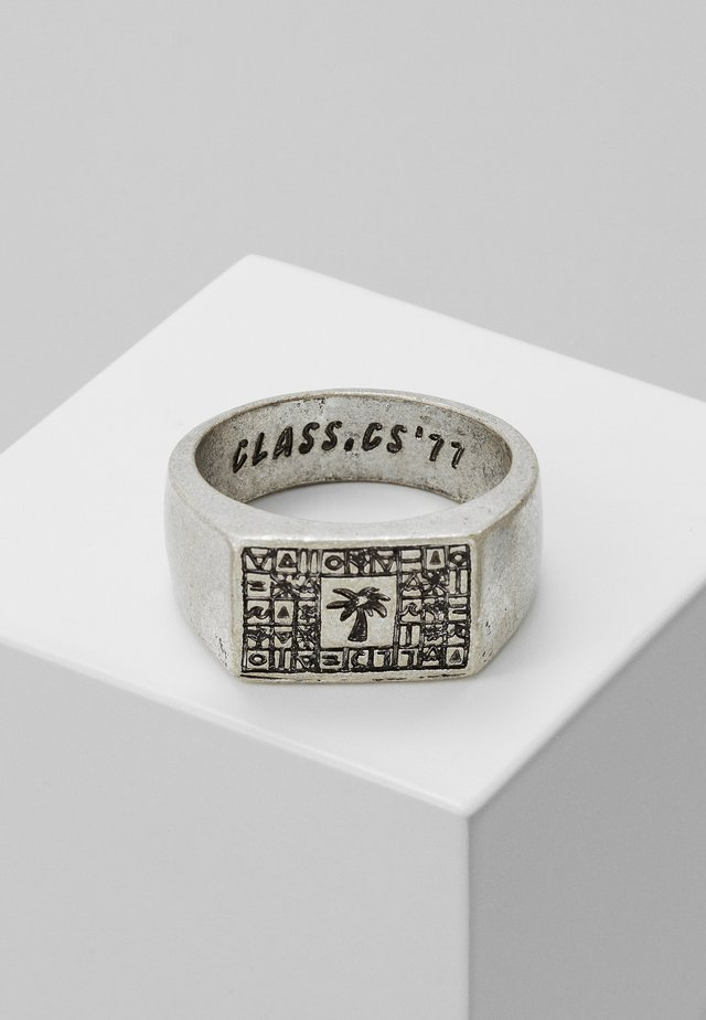 SCRIPTURE SYMBOL SIGNET - Bague - silver-coloured