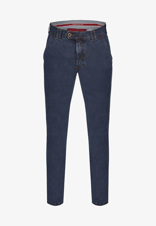 MIT THERMOLITE WÄRMEISOLIERUNG - Slim fit jeans - medium blue