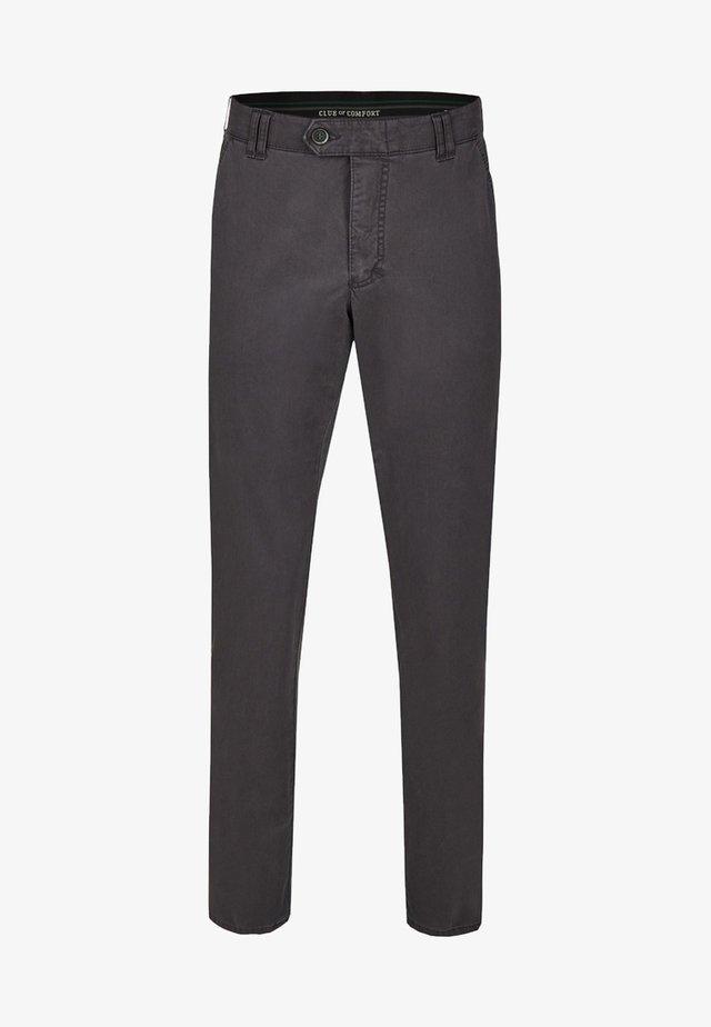 DENVER IM GERADEN SCHNITT - Trousers - grey
