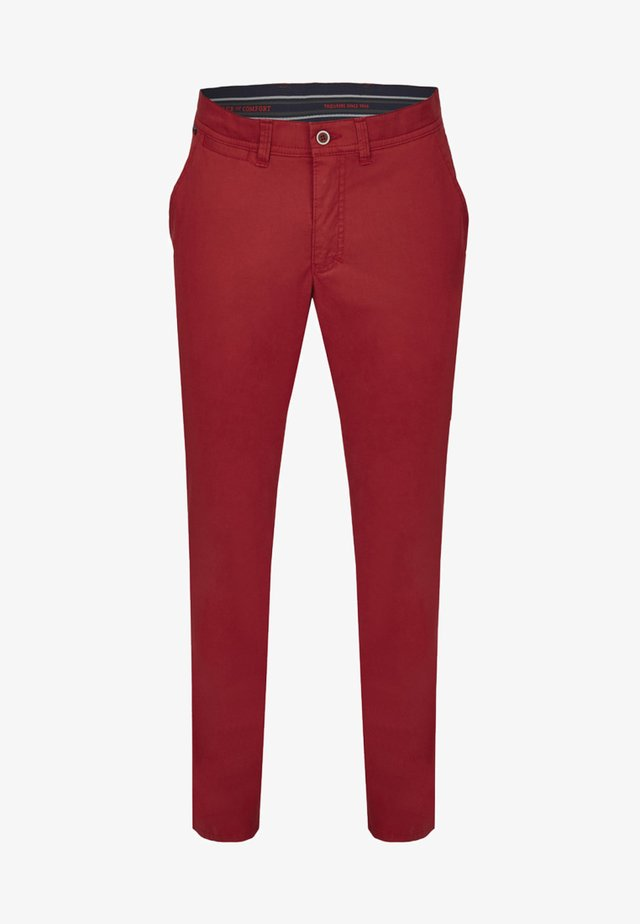 MIT ANGENEHMER COLDBLACK AUSRÜSTUNG - Trousers - light red