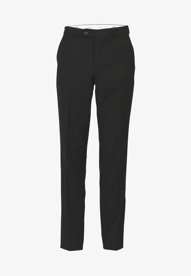 SANTOS - Trousers - black