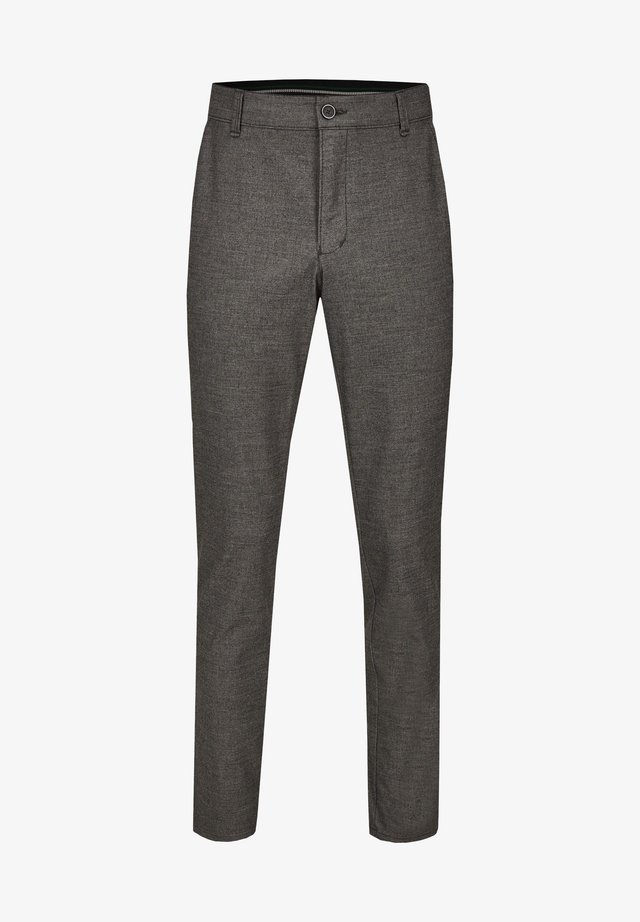 GARVEY IM WOLL LOOK - Trousers - light gray