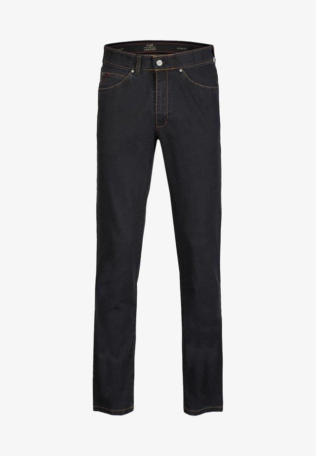 JAMES - Straight leg jeans - dark grey