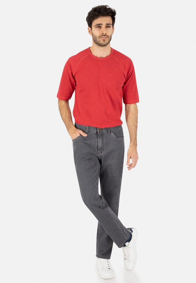 Slim fit jeans - grau (4)