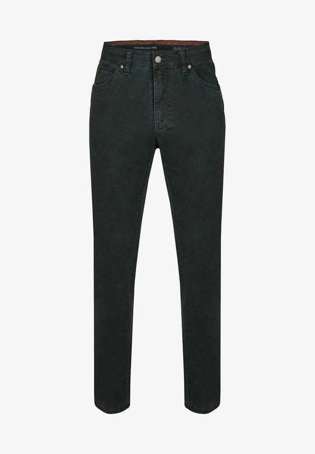 JEANS HENRY - Slim fit jeans - waldgrün