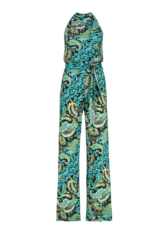 Jumpsuit - middle  green