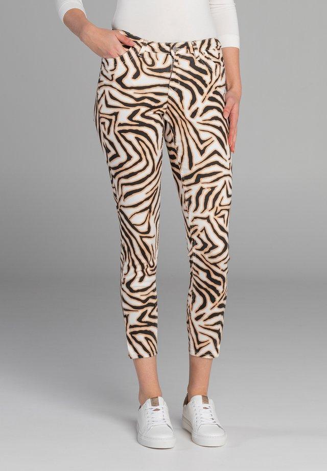 Trousers - fancy black