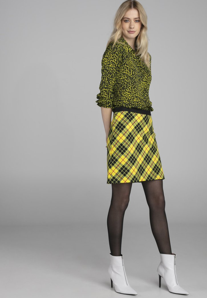 Claudia Sträter - A-line skirt - light yellow