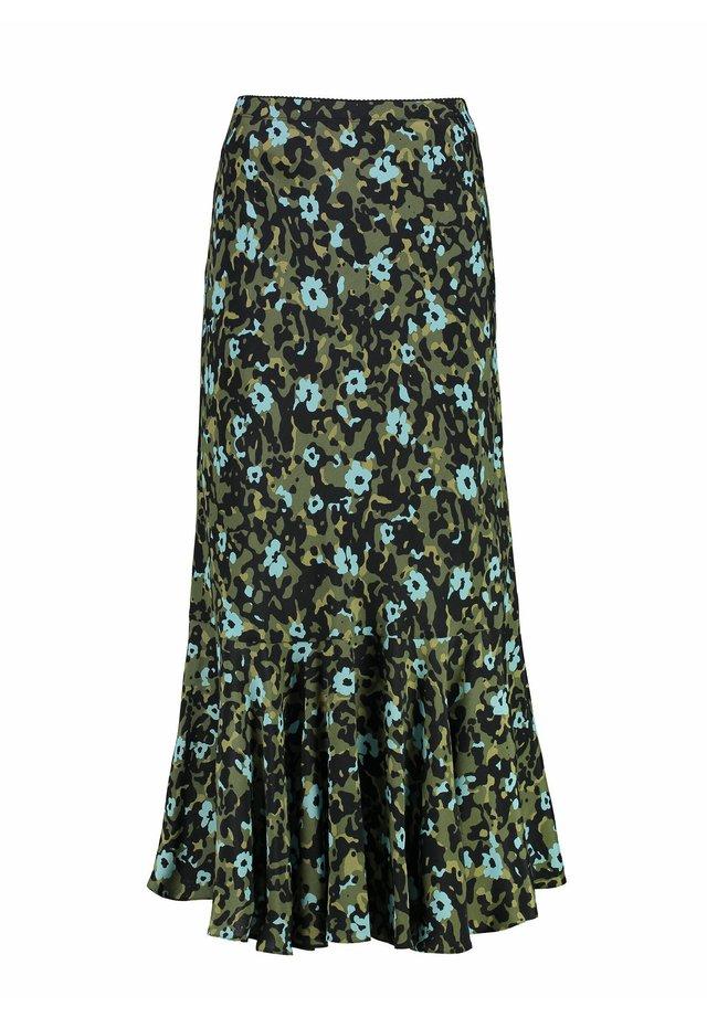 A-line skirt - khaki