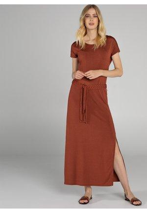Maxi dress - brown camel