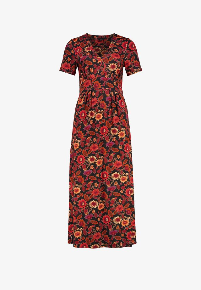 Maxi dress - brown camel
