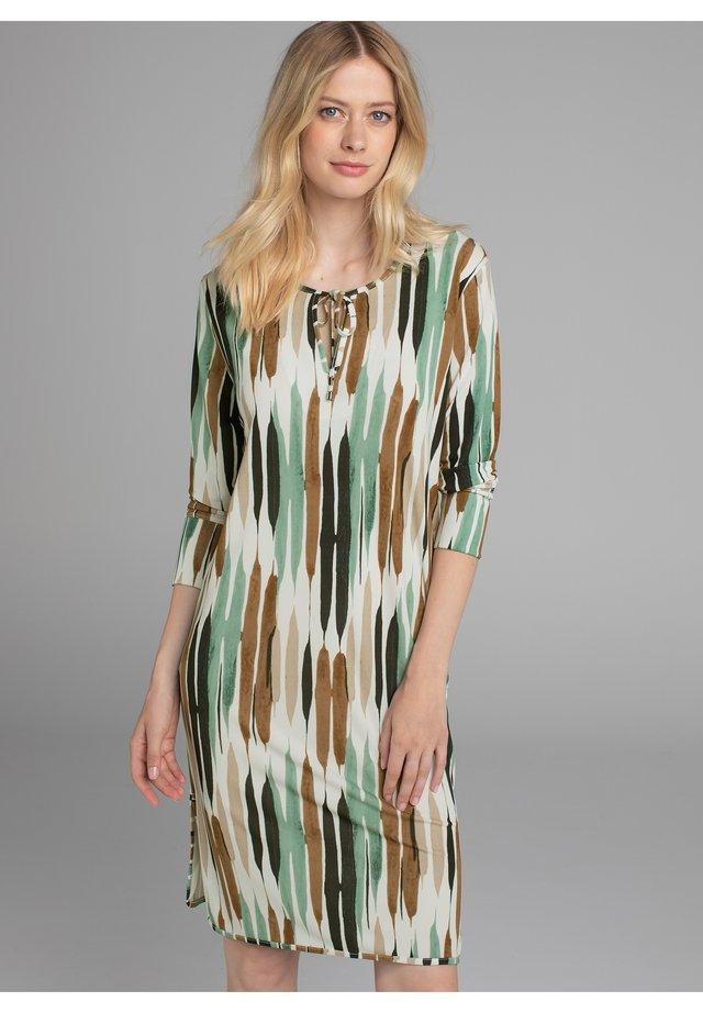 Korte jurk - gold2