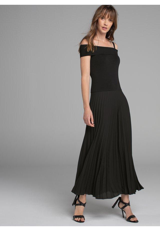 KLEID VI PA OFF SHOULD W WOVEN - Occasion wear - schwarz