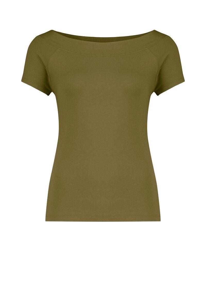 Claudia Sträter - Basic T-shirt - khaki