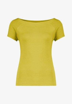 T-SHIRT OFFSHOULDER KM VI/EA - Basic T-shirt - lime