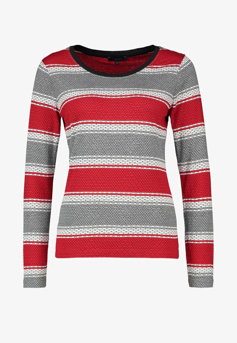 Claudia Sträter - Long sleeved top - tomato red