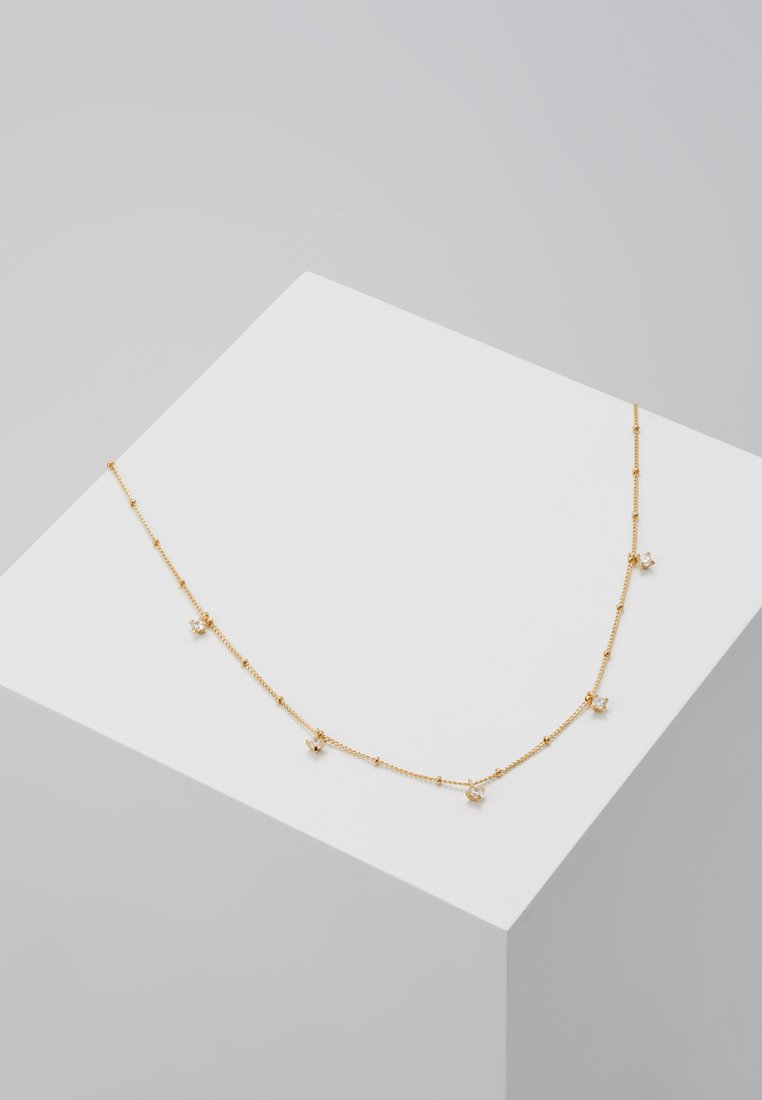 cloverpost - WAVE NECKLACE - Necklace - yellow gold-coloured