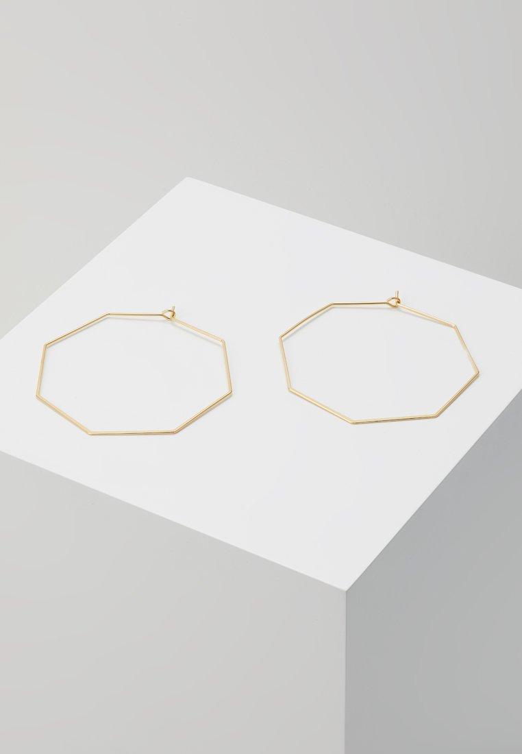 cloverpost - BYTE EARRINGS - Örhänge - yellow gold-coloured