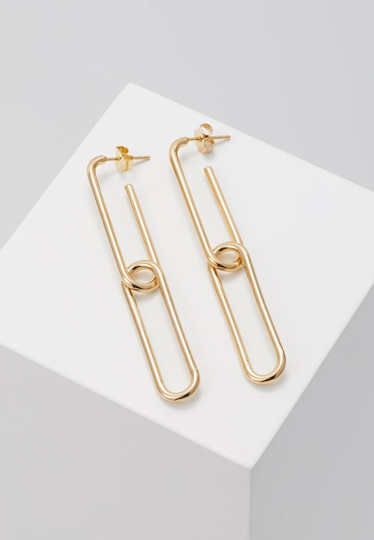 cloverpost - FASTEN EARRINGS - Earrings - yellow gold-coloured