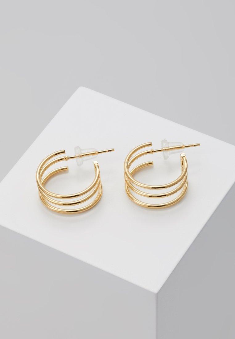 Cloverpost Yellow coloured Roll EarringsBoucles Gold D'oreilles DIWe2bEH9Y