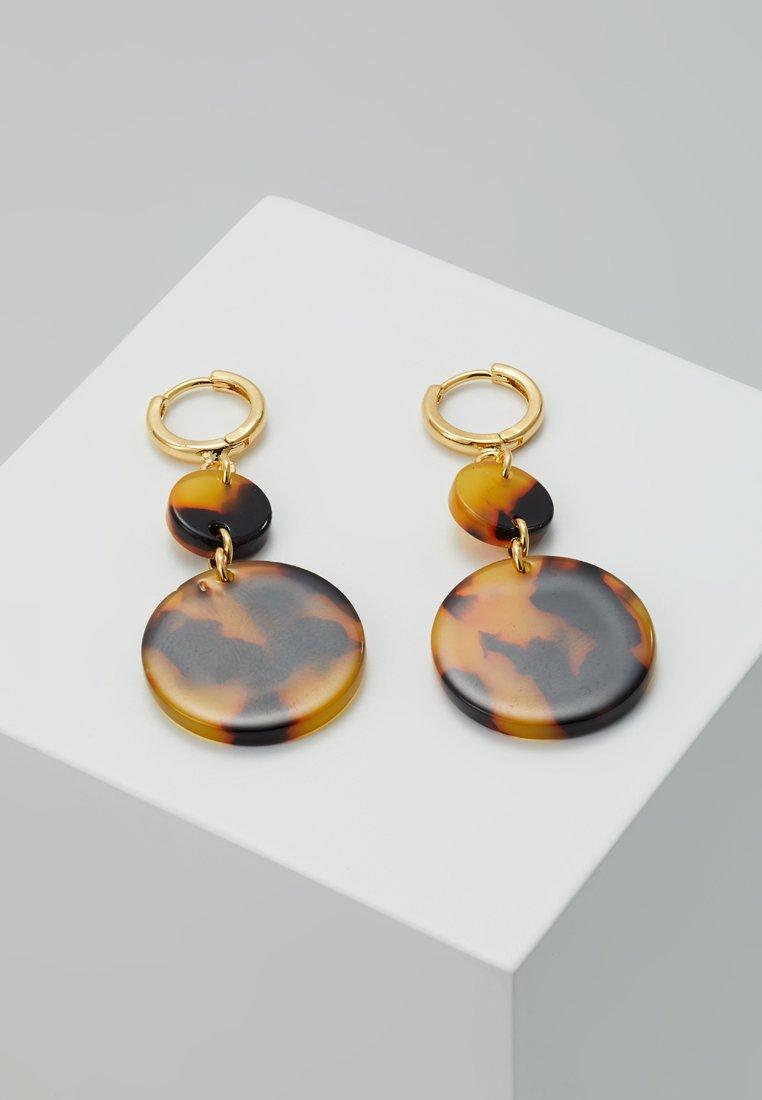 EarringsBoucles Pluck D'oreilles Cloverpost Tortoise Yellow Gold coloured FJuK135Tcl