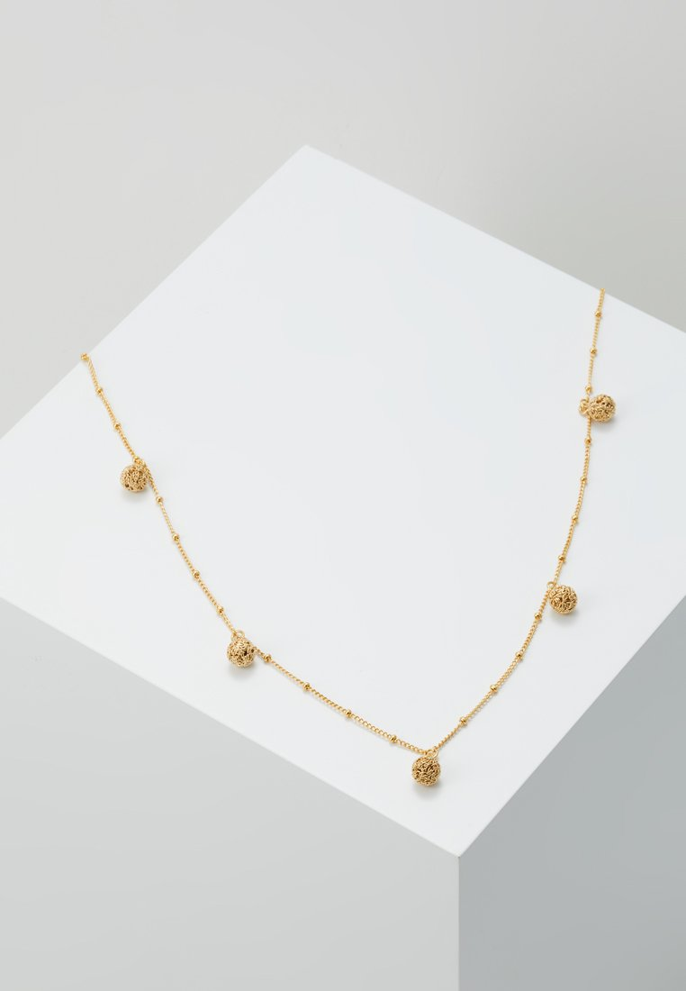 cloverpost - POWDER NECKLACE - Halskette - yellow gold-coloured