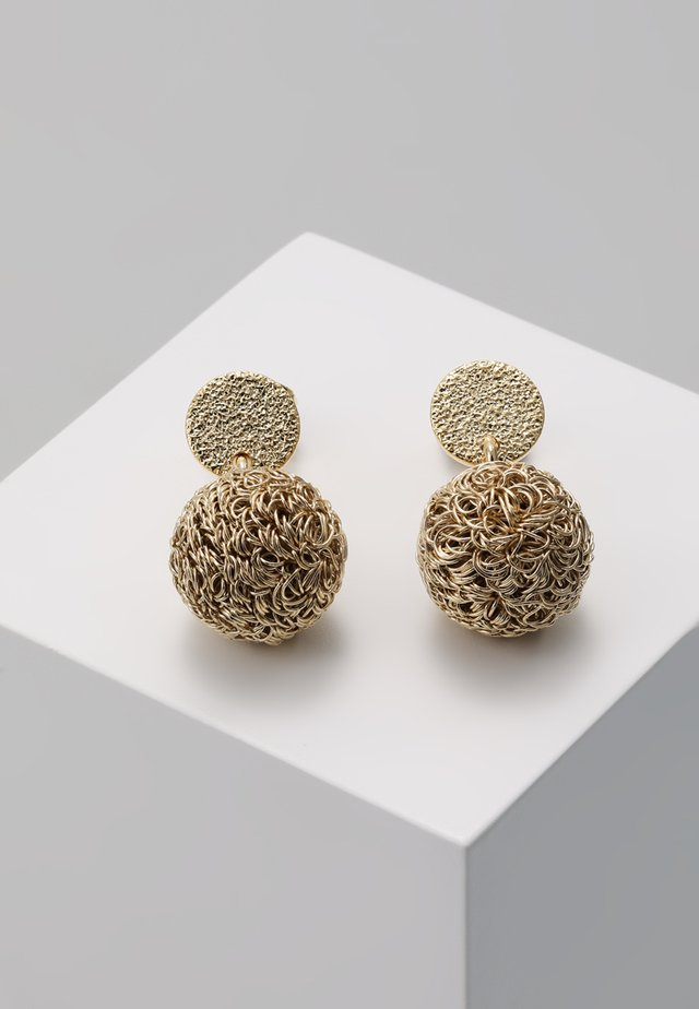 WARP EARRINGS - Orecchini - yellow gold-coloured