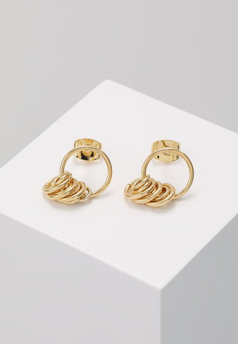 cloverpost - NET EARRINGS - Orecchini - yellow gold-coloured