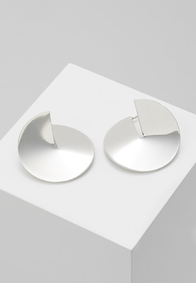 BELIEF EARRINGS - Örhänge - white gold-coloured