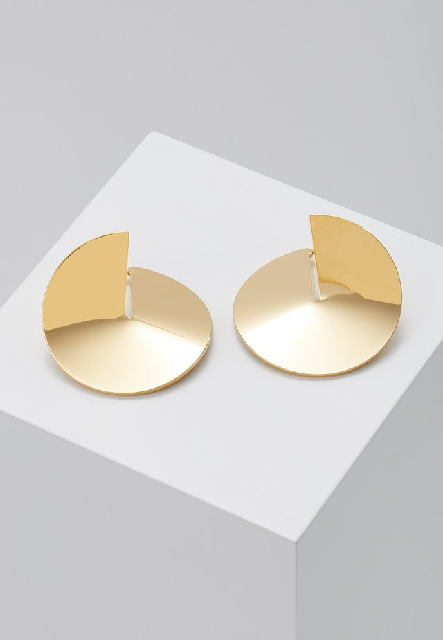 BELIEF EARRINGS - Örhänge - yellow gold-coloured