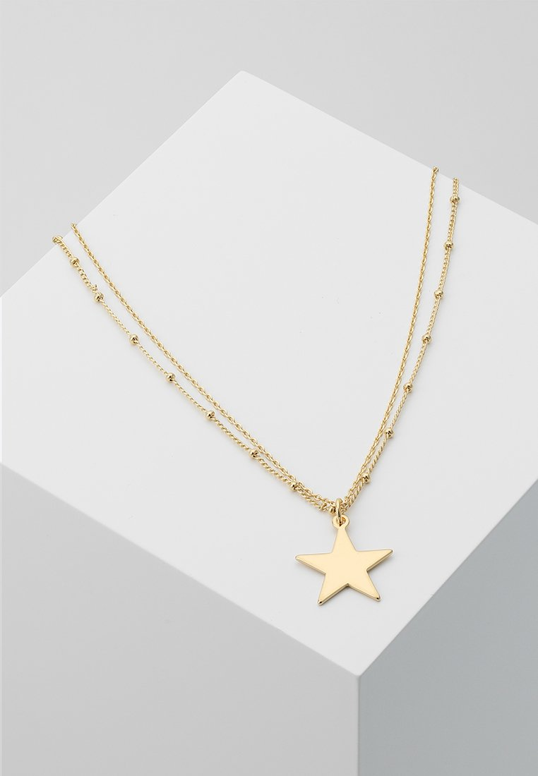cloverpost - TRANCE NECKLACE - Necklace - yellow gold-coloured